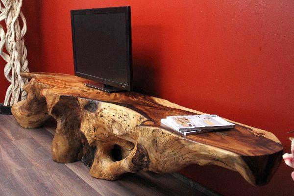 sideboard suar suarholz wurzel holz massiv natur 300cm 200kg. Black Bedroom Furniture Sets. Home Design Ideas