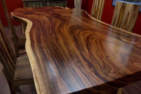 Esstisch Baumscheibe ~ Esstisch, Suar, Holz, Massiv, Tisch, Baumscheibe, Natur, 220x122x79