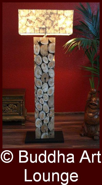 stehlampe design lampe stehleuchte leuchte massiv holz. Black Bedroom Furniture Sets. Home Design Ideas