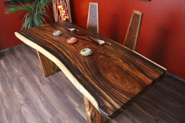 Grose Holz Esstisch Farbenmix