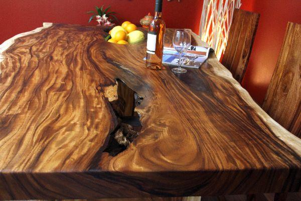 Esstisch Holz Naturbelassen ~ Esstisch, Schreibtisch, Holz, Massiv, Suar, Küchentisch, 200x120x79