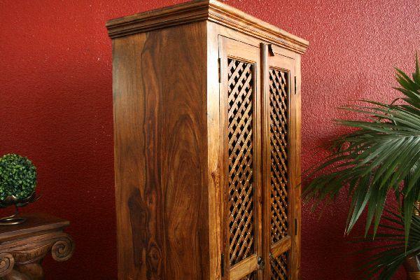 kleiderschrank b cherschrank 180x80x45 holz massiv. Black Bedroom Furniture Sets. Home Design Ideas