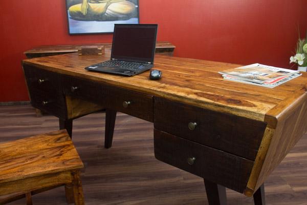 schreibtisch massivholz palisander kolonialfarben. Black Bedroom Furniture Sets. Home Design Ideas