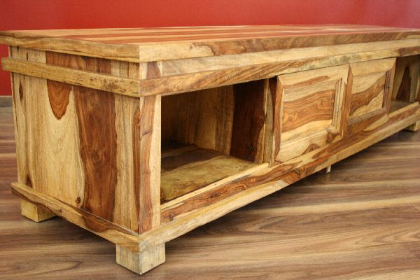 sideboard tv hifi 180x45x40 massiv holz bali schrank lowboard regal sheesham neu ebay. Black Bedroom Furniture Sets. Home Design Ideas