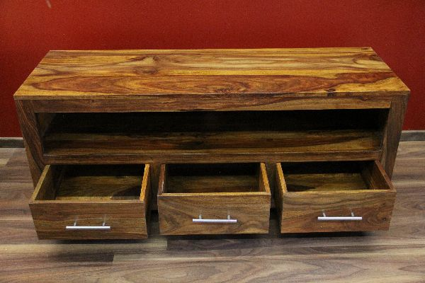sideboard tv hifi 135x55x45 holz massiv bali schrank regal rack fernsehschrank ebay. Black Bedroom Furniture Sets. Home Design Ideas