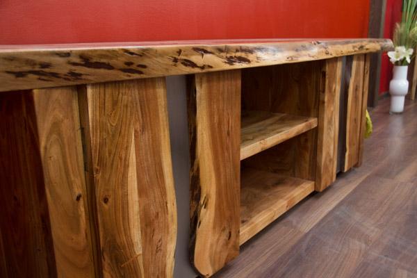 tv sideboard suar holz massiv hifi schrank. Black Bedroom Furniture Sets. Home Design Ideas