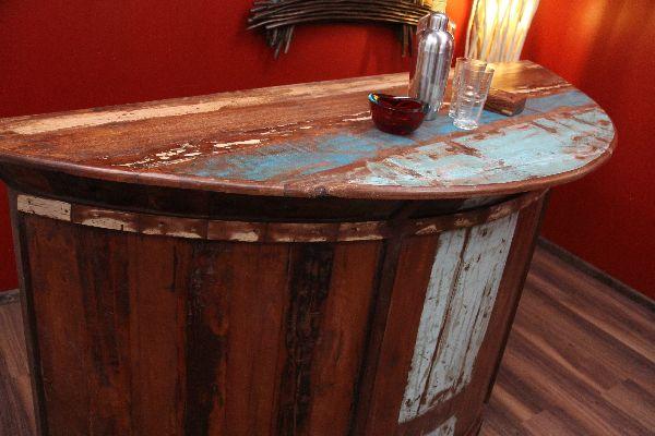 bar theke tresen kolonial antik holz haus garten. Black Bedroom Furniture Sets. Home Design Ideas