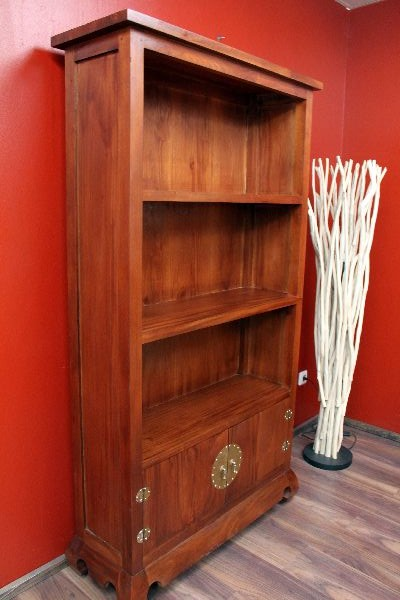 b cherregal standregal holz 180x102x36 kolonial indonesien. Black Bedroom Furniture Sets. Home Design Ideas