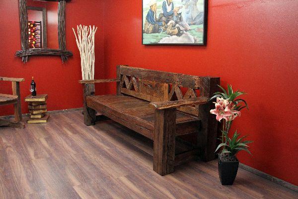 sitzbank bank holz teak massiv alt antik bootsholz 202x90x78. Black Bedroom Furniture Sets. Home Design Ideas