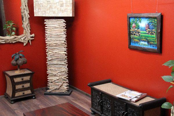 Liebhaber Der Traditionellen Thailändischen Kunst Werden Von Dieser  Ausgefallenen Holzmalerei Begeistert Sein!