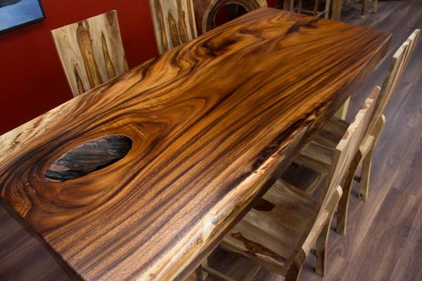 tischplatte baumscheibe gallery of der tischonkel tischplatte esstisch aus einer baumscheibe. Black Bedroom Furniture Sets. Home Design Ideas