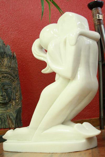 skulptur figur statue deko neu gro stein purer marmor ebay. Black Bedroom Furniture Sets. Home Design Ideas