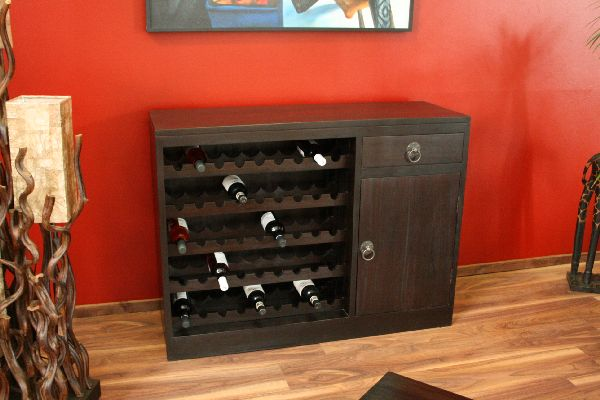 weinregal weinschrank bar regal wein holz massiv. Black Bedroom Furniture Sets. Home Design Ideas