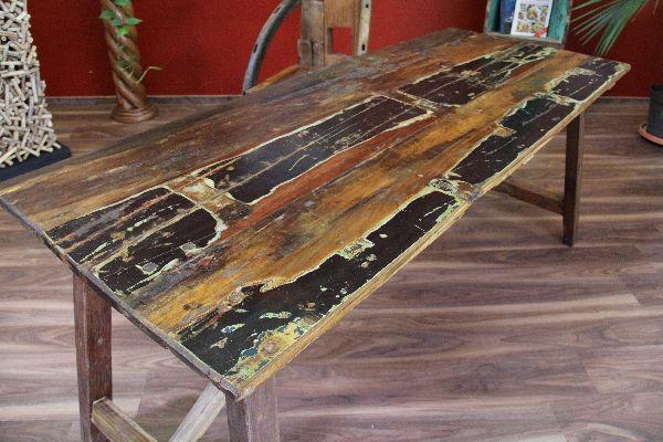 Esstisch holz massiv antik  Esstisch, Küchentisch, Massiv, Holz, Recycelt, Antik, Bali,187x75x75