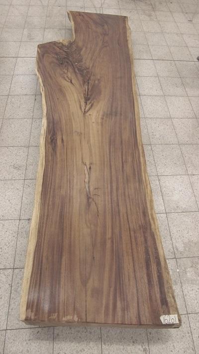 Details Zu Tischplatte Massivholz 300x100 Esstisch Baumstamm Baumkanten Suar Tisch Natur
