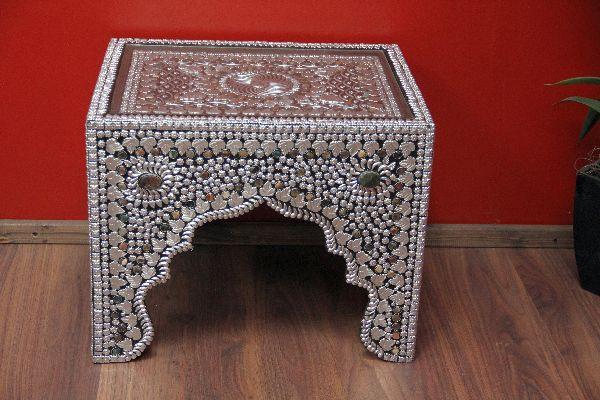 Orientalische Beistelltische indische teetisch im orientalischen stil