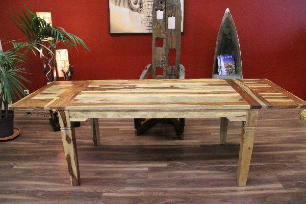esstisch k chentisch erweiterbar holz rustikal 160. Black Bedroom Furniture Sets. Home Design Ideas