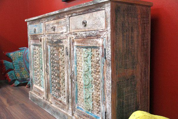 Weisse Vintage Kommode Aus Massivholz Im Landhausstil Nr 14804