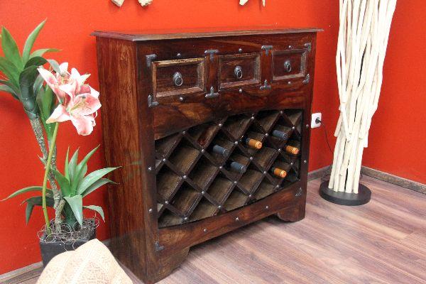 weinregal weinschrank weinbar walnuss holz massiv kolonialstil. Black Bedroom Furniture Sets. Home Design Ideas