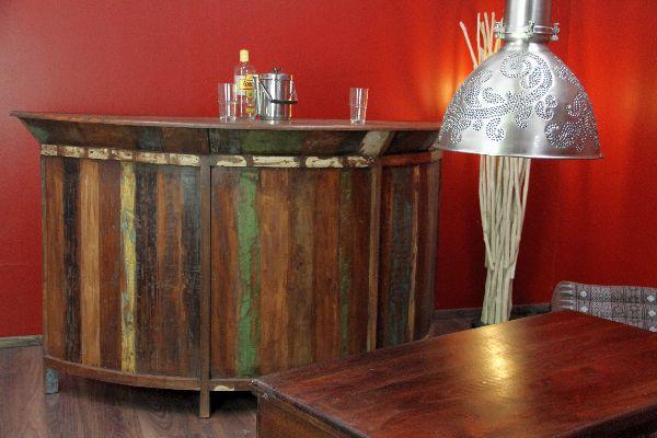 bar theke tresen kolonial antik holz haus garten wein 184cm. Black Bedroom Furniture Sets. Home Design Ideas