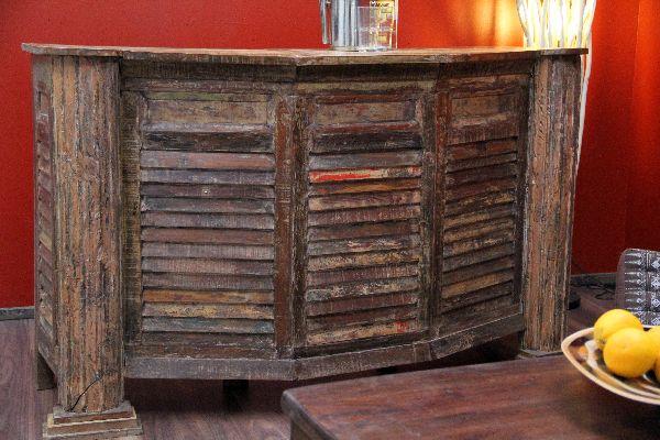 bar theke tresen haus garten wein holz vintage shabby chic. Black Bedroom Furniture Sets. Home Design Ideas