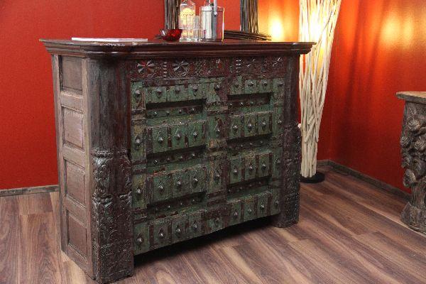 Bar, Theke, Schrank, Tresen, Kolonial, Antik, Holz, Haus, Wein, 140cm