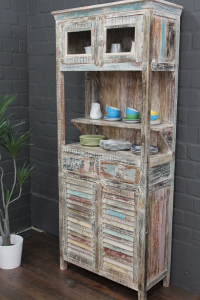 buffetschrank massivholz landhausstil 210x90x40 buffet. Black Bedroom Furniture Sets. Home Design Ideas