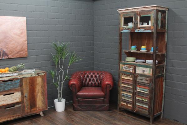 buffetschrank massivholz braun 210x90x40 buffet. Black Bedroom Furniture Sets. Home Design Ideas