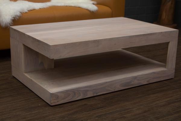couchtisch massivholz wei beige gek lkt 110x70x40. Black Bedroom Furniture Sets. Home Design Ideas