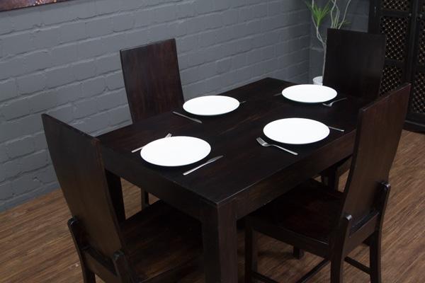 esstisch k chentisch sheesham holz 120x80x77 walnuss massiv tisch schreibtisch ebay. Black Bedroom Furniture Sets. Home Design Ideas