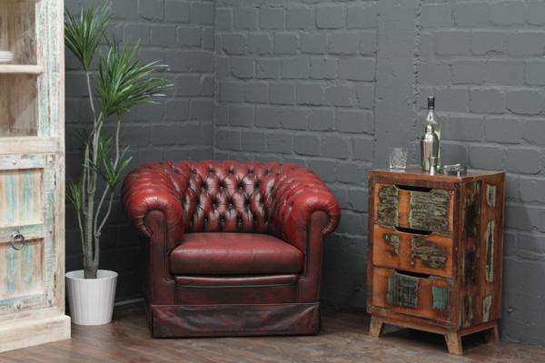 kleine massivholz kommode im vintage landhaus stil. Black Bedroom Furniture Sets. Home Design Ideas