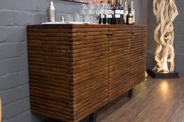 designer sideboard schrank massivholz palisander 174x95x49 anrichte buffet gro ebay. Black Bedroom Furniture Sets. Home Design Ideas
