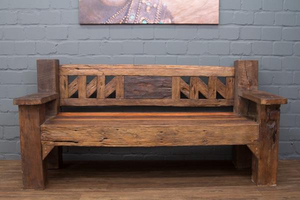 sitzbank massivholz teak antik alt bootsholz driftwood. Black Bedroom Furniture Sets. Home Design Ideas