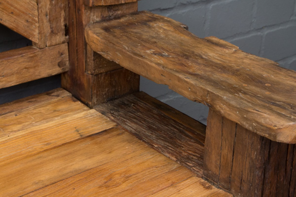 sitzbank massivholz teak antik alt bootsholz treibholz. Black Bedroom Furniture Sets. Home Design Ideas