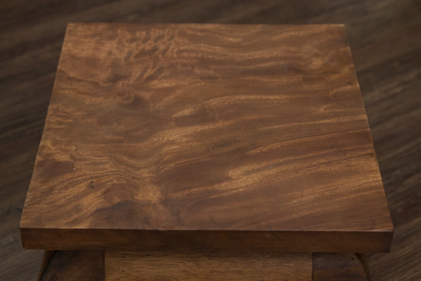 beistelltisch massivholz quadratisch 26x26x20 opiumtisch. Black Bedroom Furniture Sets. Home Design Ideas
