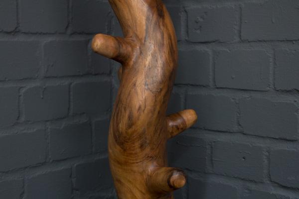 Kleiderständer Baumstamm Aus Einem Stück Massivholz