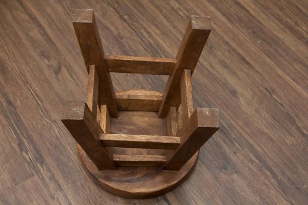 kinderhocker holz katze stuhl hocker sitzgruppe kinder massiv tiermotiv schemel ebay. Black Bedroom Furniture Sets. Home Design Ideas