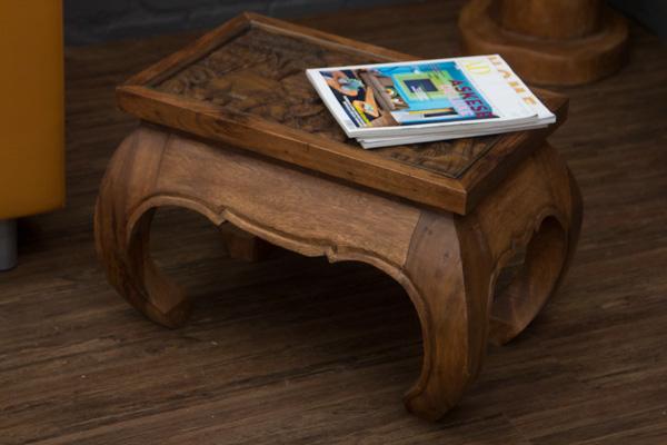 opiumtisch beistelltisch massivholz elefanten. Black Bedroom Furniture Sets. Home Design Ideas