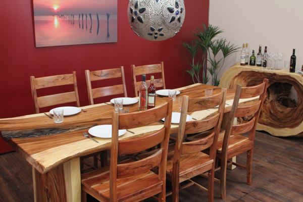 stuhl suar holz massiv holzstuhl suarholz esszimmerstuhl k chenstuhl einzeln ebay. Black Bedroom Furniture Sets. Home Design Ideas