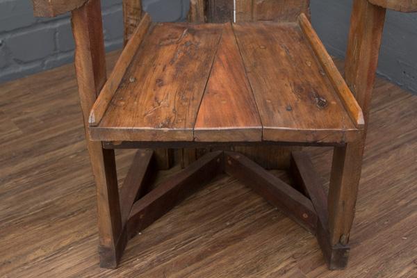 lehnstuhl teak massivholz gro thron thronstuhl 175cm. Black Bedroom Furniture Sets. Home Design Ideas