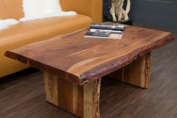 couchtisch massivholz baumstamm suar 120x75x46. Black Bedroom Furniture Sets. Home Design Ideas