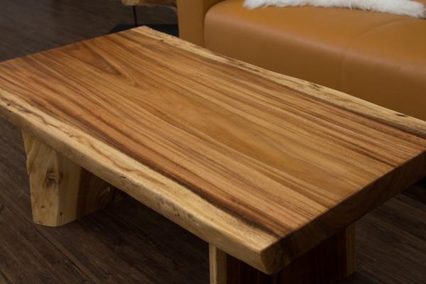 Couchtisch baumstamm massivholz suar 120x67x45 for Wohnzimmertisch baumscheibe