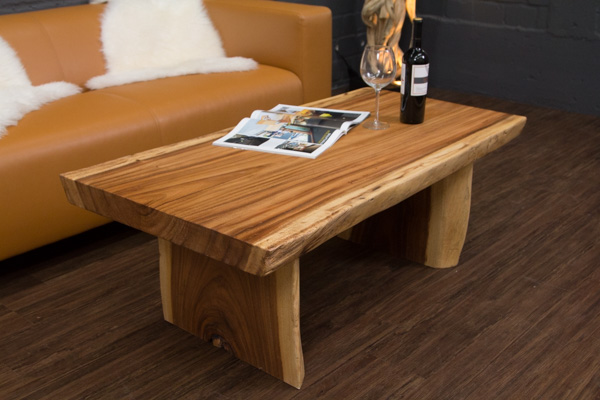couchtisch baumstamm massivholz suar 120x67x45. Black Bedroom Furniture Sets. Home Design Ideas
