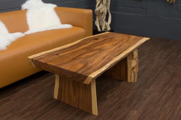 couchtisch baumstamm massivholz suar 120x68x45. Black Bedroom Furniture Sets. Home Design Ideas