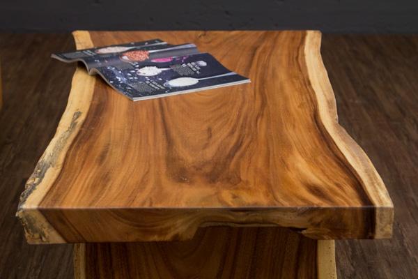 Couchtisch baumstamm massivholz suar 120x67x45 for Baumstamm wohnzimmertisch