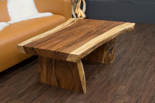 couchtisch baumstamm massivholz suar 117x84x45. Black Bedroom Furniture Sets. Home Design Ideas
