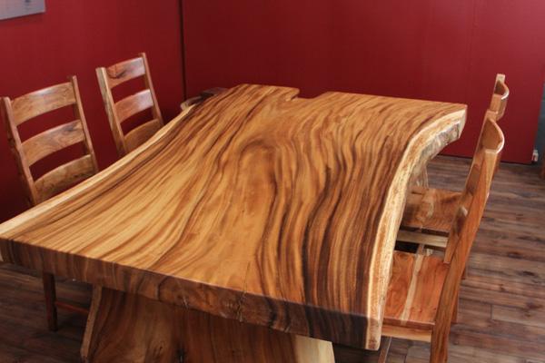 esstisch baumscheibe stunning rustikaler wurzeltisch aus. Black Bedroom Furniture Sets. Home Design Ideas