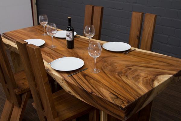 massivholz esstisch baumscheibe great couchtisch. Black Bedroom Furniture Sets. Home Design Ideas