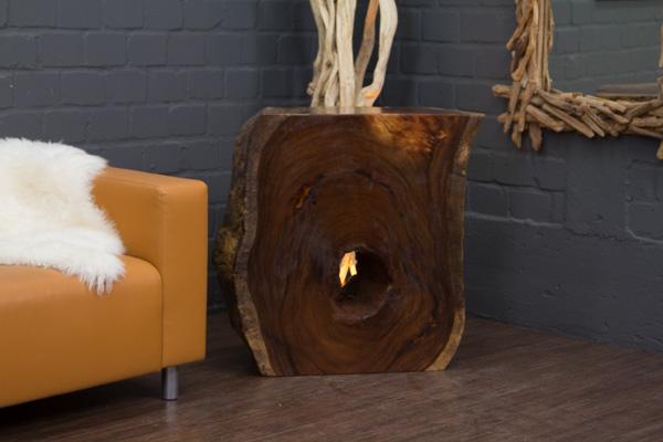 Wurzel Konsole Aus Einem Suar Massivholz Baumstamm Nr16291