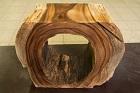 Wurzel Konsole aus Suar Baumstamm Massivholz. Nr.16665